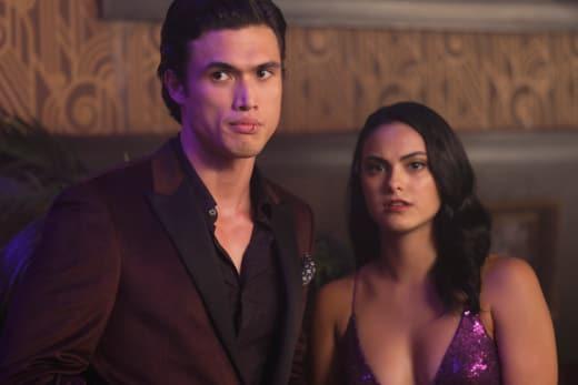 Reggie and Veronica - Riverdale Season 3 Episode 3