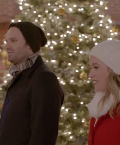 Christmas Shopping - Mistletoe & Menorahs