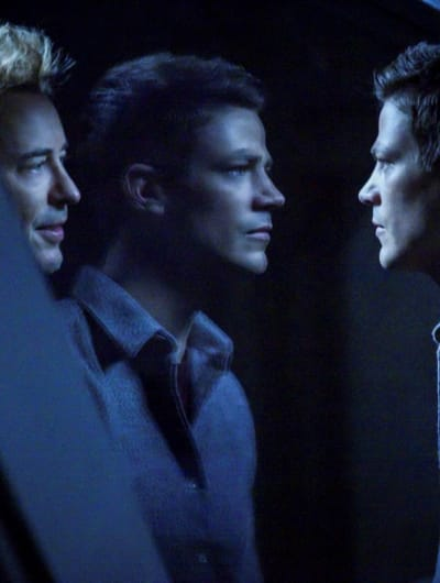 Barry and Thawne - Tall - The Flash Season 5 Episode 18