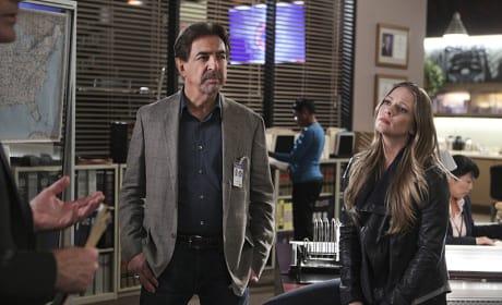 Rossi and JJ - Criminal Minds Season 10 Episode 21