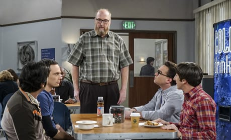 Bert Interrupts Lunch - The Big Bang Theory Season 10 Episode 9