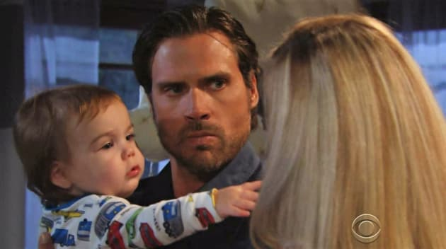 Sully Reaches for Mama - The Young and the Restless