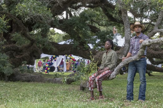 Nova Leans on Remy - Queen Sugar Season 3 Episode 7