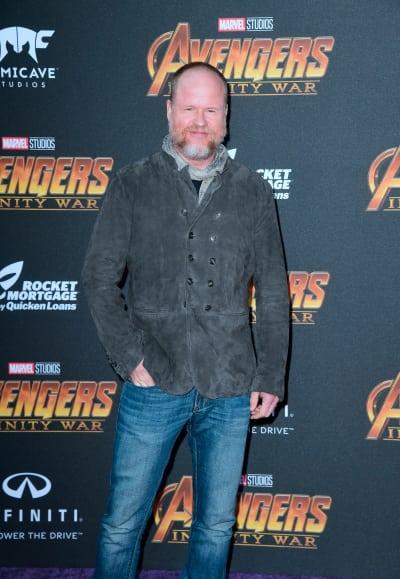 Joss Whedon Attends Avengers Premiere