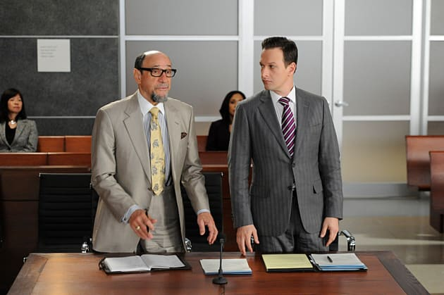 F. Murray Abraham on The Good Wife