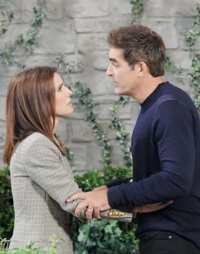 Rafe and Hope Fight Again - Days of Our Lives