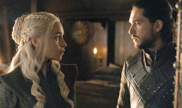 Game of Thrones - Jon Snow & Daenerys
