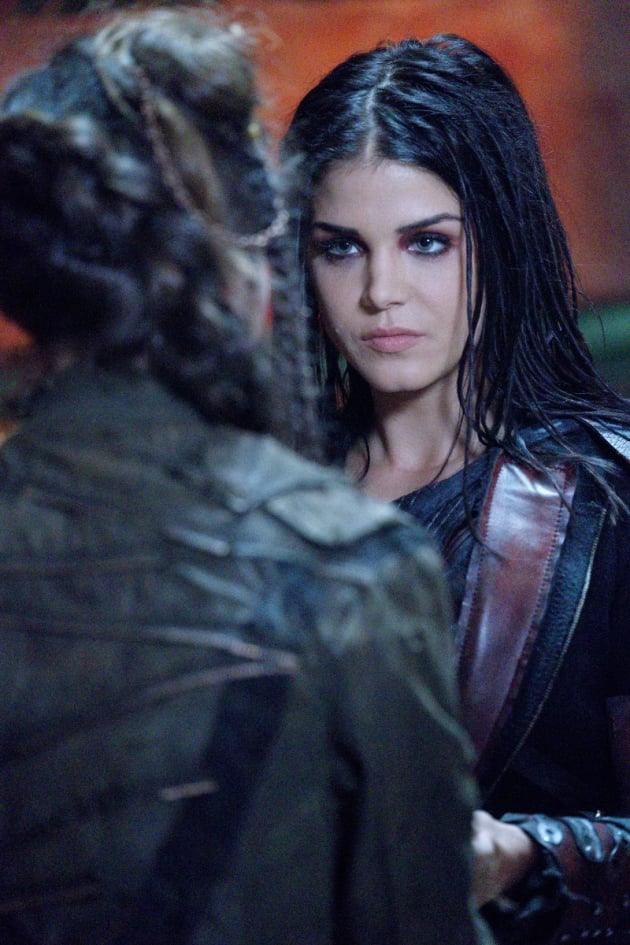 Octavia and Madi  - The 100 Season 5 Episode 6