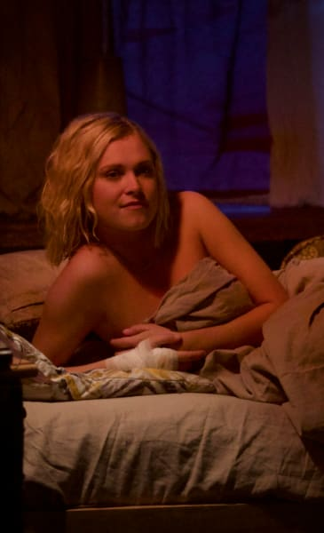 Clarke After the Party - The 100 Season 6 Episode 4