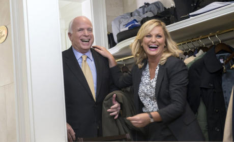 Leslie and Senator McCain