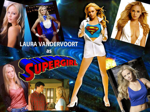 Laura Vandervoort Wallpaper