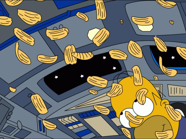 Homer in Space