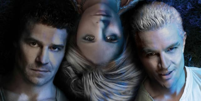 Buffy, Angel, and Spike - Buffy the Vampire Slayer