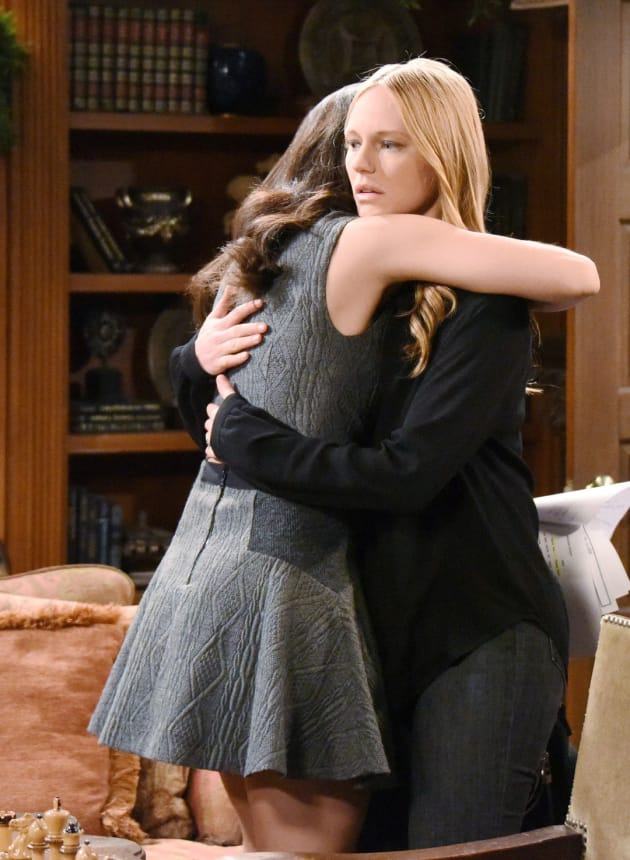 Gabi and Abigail Work Together - Days of Our Lives