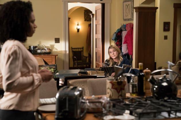Sisterly Intervention - Grey's Anatomy Season 14 Episode 15