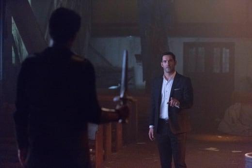Talking Not Fighting - Lucifer Season 2 Episode 5