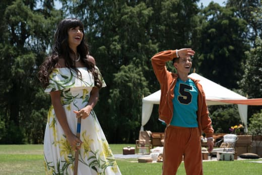 Tahani and Jason Play Croquet - The Good Place Season 2 Episode 8