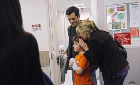 Luke at the Hospital