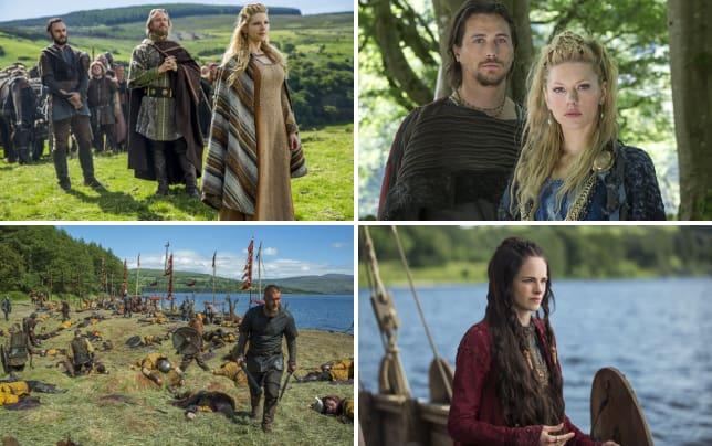 Lagertha enjoys the view vikings