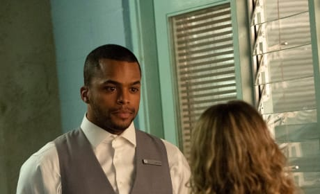Ingrid Reels Jason in - Grand Hotel Season 1 Episode 8