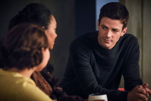 Barry Finding The Right Words - The Flash Season 5 Episode 16