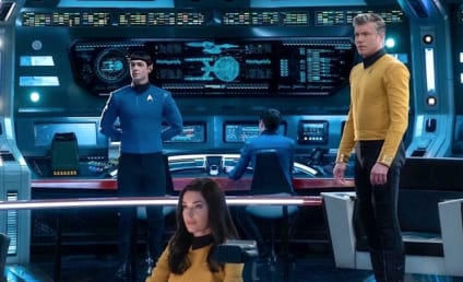 Star Trek Spinoff Strange New Worlds Starring Discovery's Pike, Spock, and Number One Nabs Series Order at CBS All Access