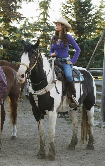 Gloria on Horseback