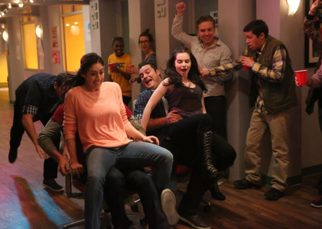 Bay Needs To Go Home - Switched at Birth Season 4 Episode 5