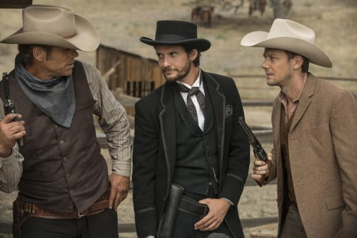Black Hat - Westworld Season 1 Episode 4