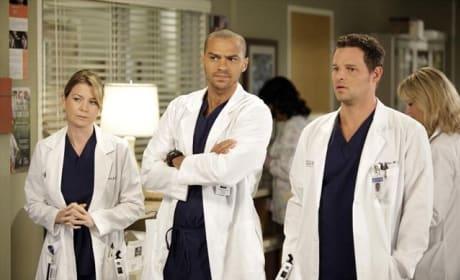 Jackson, Mer, and Karev