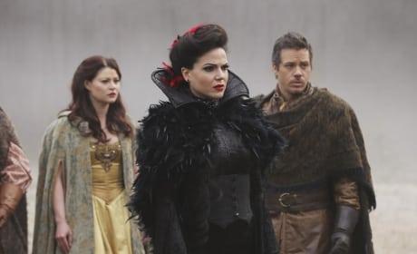Is Regina Frightened?
