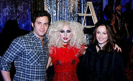 Gaga For Gossip Girl