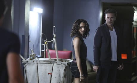 Bonnie and Alaric - The Vampire Diaries Season 7 Episode 3