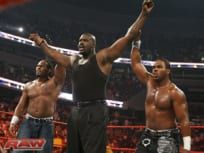 Shaq on Raw