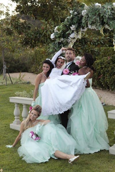 The wedding photo shoot the bachelor