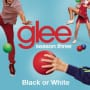 Glee cast black or white