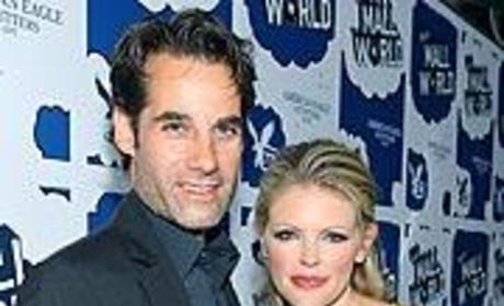 Adrian Pasdar and the Mrs.