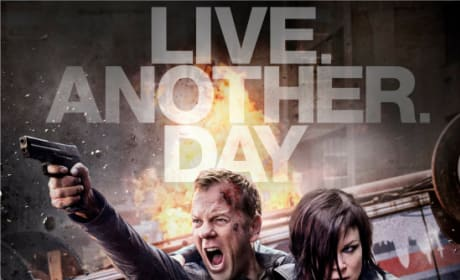 24: Live Another Day Poster