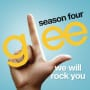 Glee cast we will rock you
