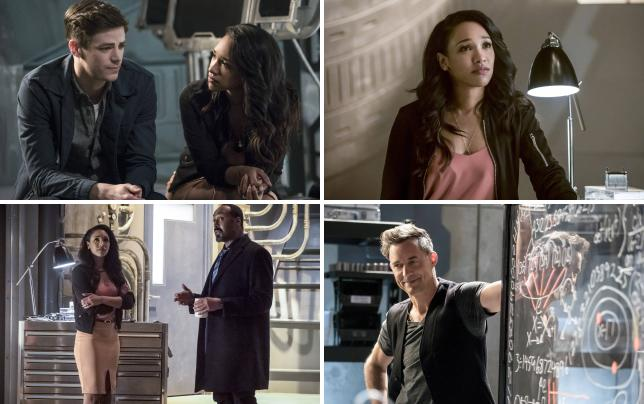 Westallens awkward chat the flash s3e21