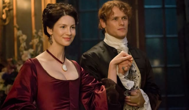 Claire and Jamie - Outlander