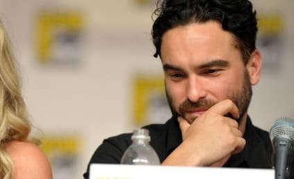 Johnny Galecki at Comic-Con: Darn You, Kunal!