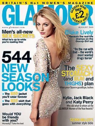 Blake Lively: UK Glamour Cover