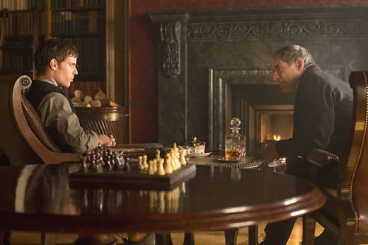 Victor and Sir Malcolm Chat - Penny Dreadful