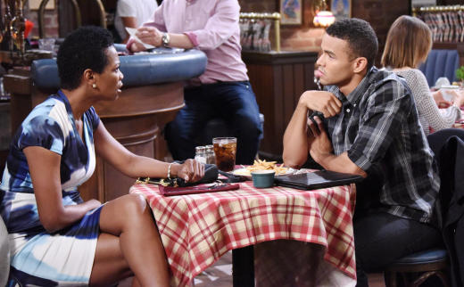 Valerie Confronts Theo - Days of Our Lives