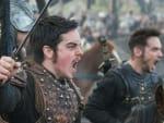 Alfred in Battle - Vikings Season 5 Episode 15