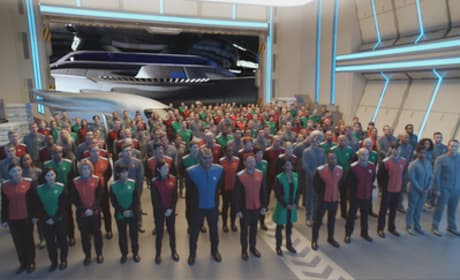 The Crew of the Orville Season 1 Episode 1
