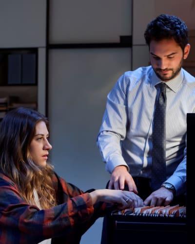Checking Files - Tall  - In The Dark Season 2 Episode 6