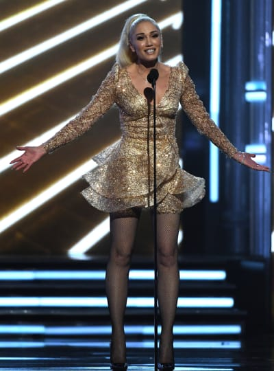 Gwen Stefani Attends BBMAs