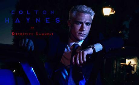 Colton Haynes as Detective Samuels - American Horror Story